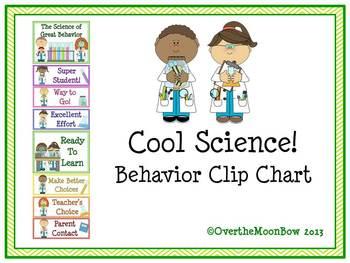 Cool Science! Behavior Clip Chart