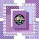 Purple Digital Papers and Frames and Buntings
