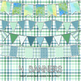 Green Digital Papers and Frames and Buntings
