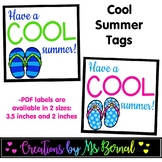 Cool Summer Tags | End of the Year