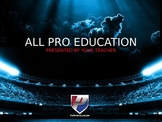Cool Tools - All Pro Academics Powerpoint Template Backgrounds