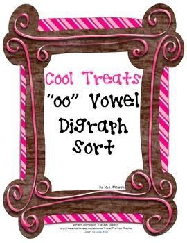 """Cool Treats """"oo"""" Vowel Sort"""