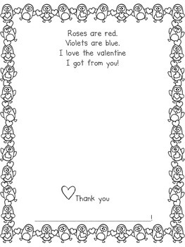 Cool Valentines - Templates for Valentine Book, Bag, and Snacks