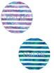 Cool Watercolor Stripes - Classroom Jobs - EDITABLE