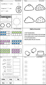 Cool Winter Unit for Pre-K and Kindergarten