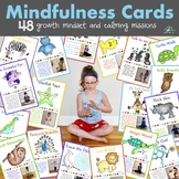 Mindfulness Cards (Growth Mindset Activities & Calm Down Breaks)