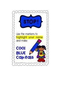 Cool blue capitals