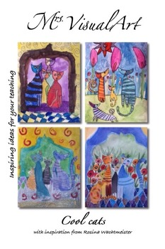 Cool cats - with inspiration from Rosina Wachtmeister