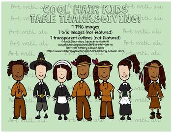 Cool hair kids- Thanksgiving Edition