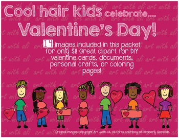 Cool hair kids - Valentine's Day