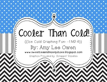 Cooler Than Cold {{Ice Cold Graphing Fun}} 1.MD.4