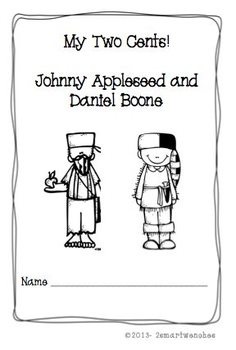 Coolest of the Pioneer World Appleseed and Boone