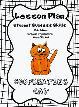 Cooperating Cat - Student Success Skills/Character Traits Lesson