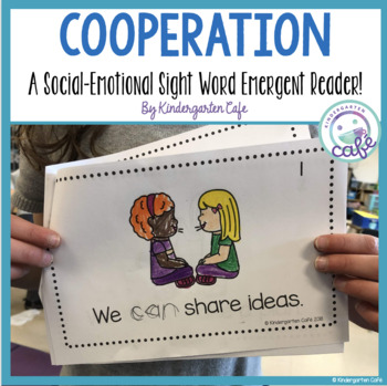 "Cooperation: A Sight Word Emergent Reader ""can"""
