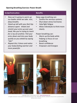 Cooperation Child/Caregiver Yoga Lesson Plan