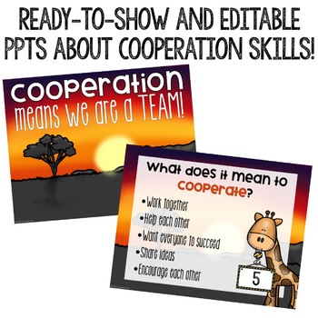 Cooperation Classroom Guidance Lesson for Early Elementary/Primary Counseling