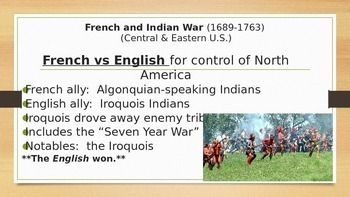 Cooperation & Conflicts Between Indian Nations & Colonists