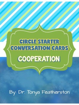 Cooperation Conversation Cards