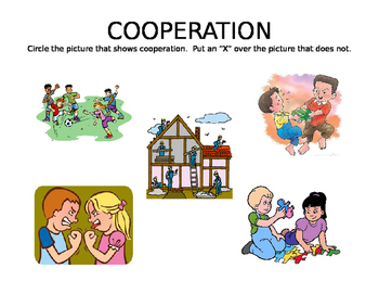 Cooperation Cross Out