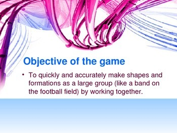 Cooperation Game – Working Together Towards a Common Goal, part 1