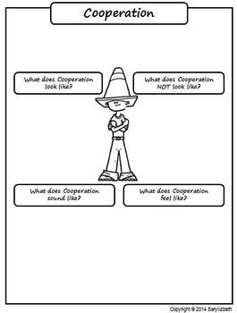 Cooperation Graphic Organizer