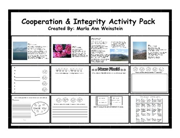 Cooperation & Integrity Activity Pack