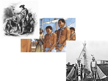 Cooperation and Conflicts Btw Native Americans, Slaves, and Europeans