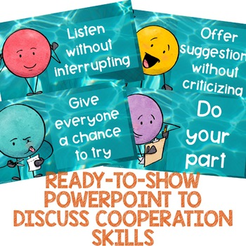 Cooperation and Teamwork School Counseling Classroom Guidance Lesson