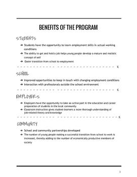 Cooperative Education Manual