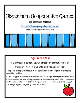 Cooperative Game Cards