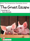Counting 1-5, The Great Escape (Farm Animals) Cooperative Gameplay