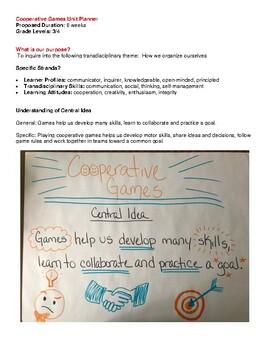 Cooperative Games PYP PE Unit