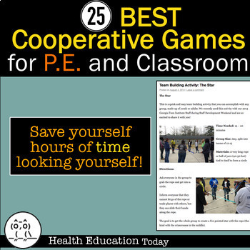 Cooperative Games for P.E. and the Classroom