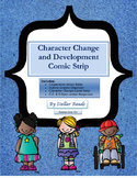 Cooperative Group Character Change Comic Strip