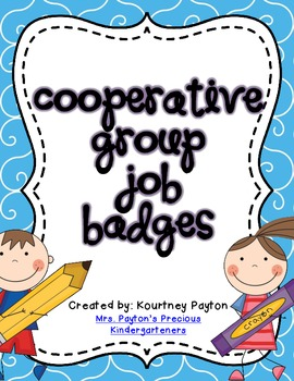 Cooperative Group Job Badges