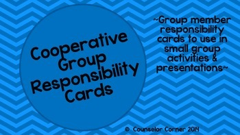 Group Responsibility Cards