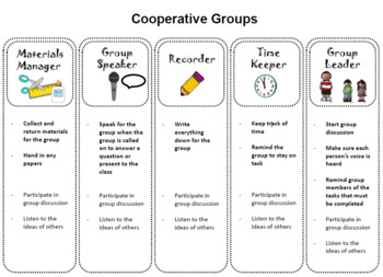 Cooperative Group Roles