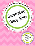 Cooperative Group Roles: Student Tags and Posters