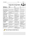 Cooperative Group Rubric