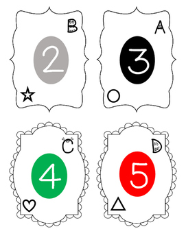 Cooperative Grouping Cards for Middle School
