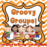 Grouping Students - Fun and Easy!