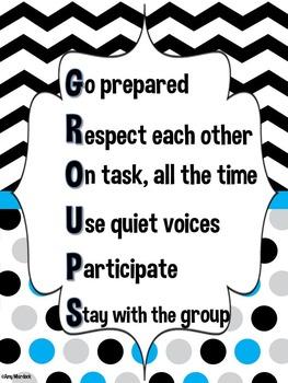 Cooperative Groups Management Set Freebie!