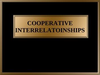 Cooperative Interrelationships