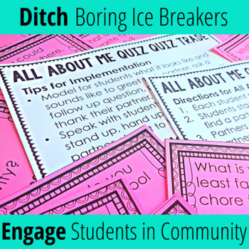 Cooperative Learning Activities for Back to School