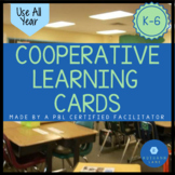 Cooperative Learning Grouping Cards