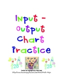 Cooperative Learning Cards Input-Output Tables