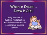 Cooperative Learning Common Core Multiplication/Division Activity