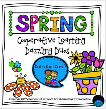Cooperative Learning Dazzling Duos Pairs That Care Spring