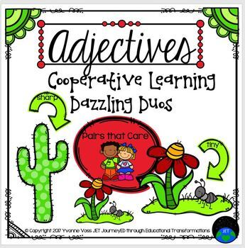 Cooperative Learning Dazzling Duos Pairs that Care Adjectives