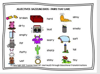 Adjectives Pair Up